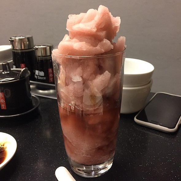 Grape Slush @ Din Tai Fung