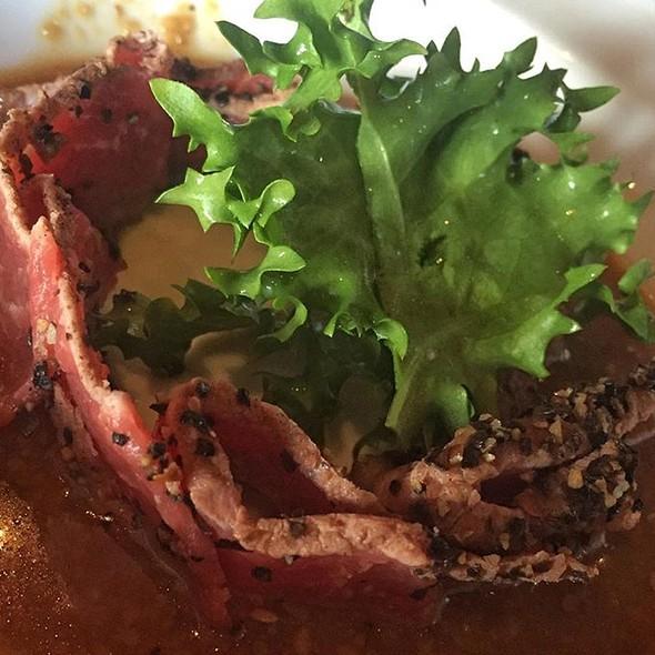 black pepper beef @ Aka Sushi House