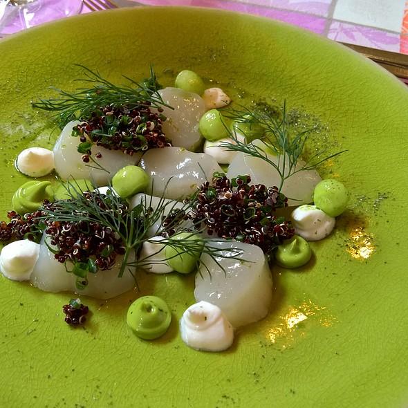 Marinated Scallops @ Cafe La Veranda