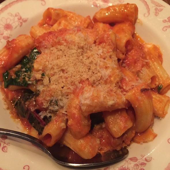 paccheri / rustic pork ragu / parmigiano reggiano @ Barbuzzo
