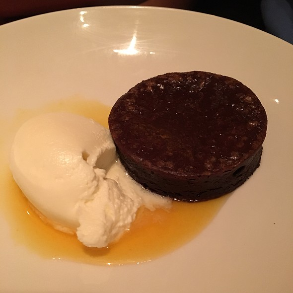 Chocolate Truffle Torte With Passionfruit Syrup - Passionfish, Pacific Grove, CA