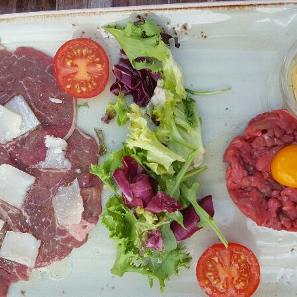 Beef Duo, Carpaccio And Tartar @ Becks Porsgrunn