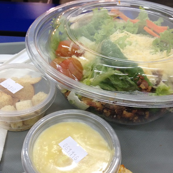 Chicken Caesar Salad @ S & R Membership Shopping