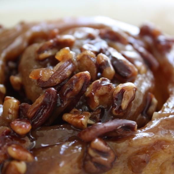 Sticky bun @ Flour Bakery