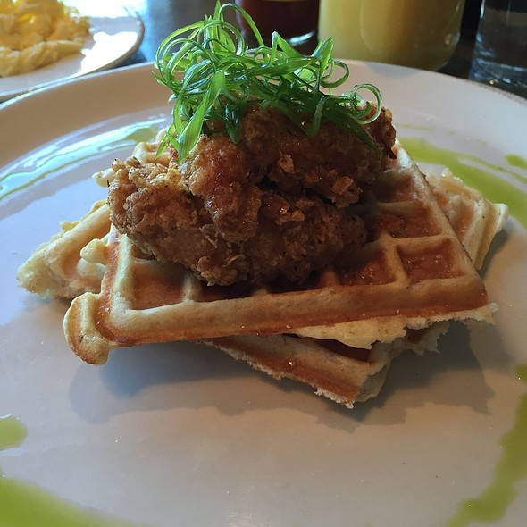 Chicken and Waffles @ Diner Deluxe