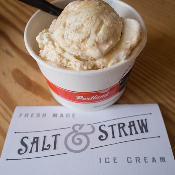 Pear And Blue Cheese Ice Cream @ Salt & Straw