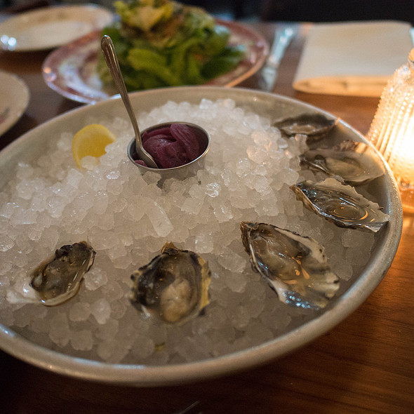 Oysters on the Half Shell @ St. Jack