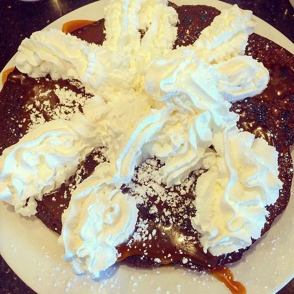 Double Chocolate Caramel Pancake