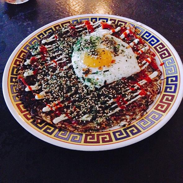 Okonomiyaki @ Xiao Bao Biscuit