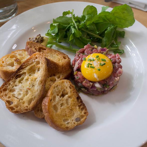 steak tartare @ Olympic Provisions Northwest
