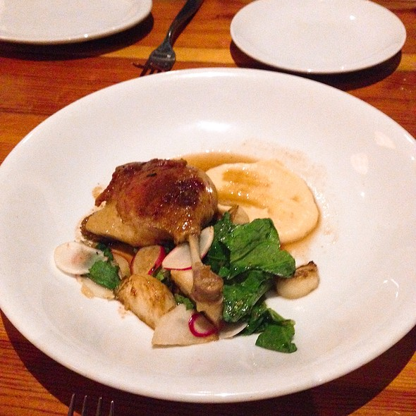 Duck Confit @ The Grocery