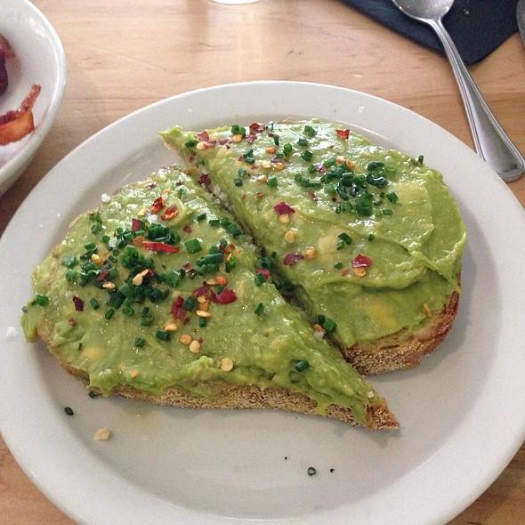 Avocado Toast @ The Park Cafe