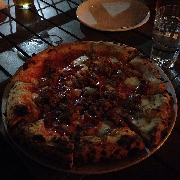 Salticcia Pizza @ Hersh's Pizza & Drinks