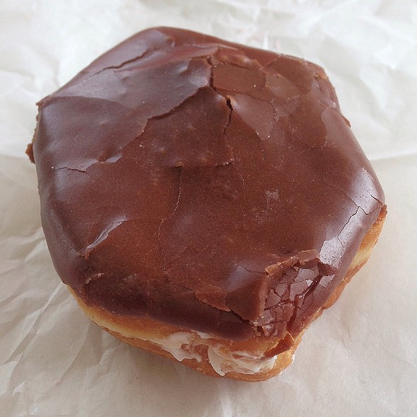 Chocolate Cream Filled Donut @ Shipley Do-Nuts