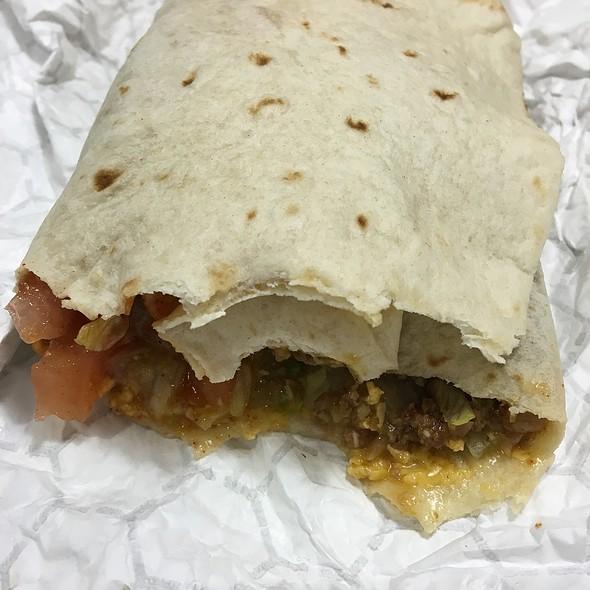 Beef Burrito @ DelTaco
