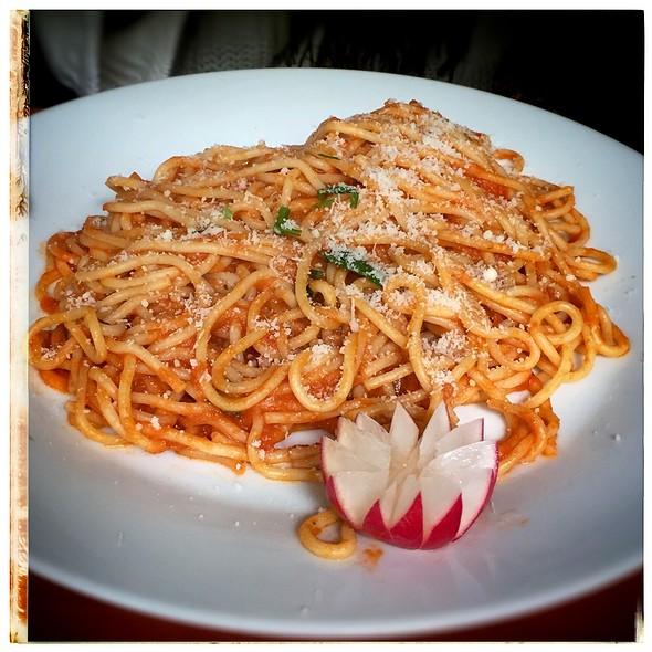 Spaghetti Napolitana @ Taverna Romano