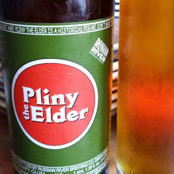 Russian River Pliney The Elder IPA