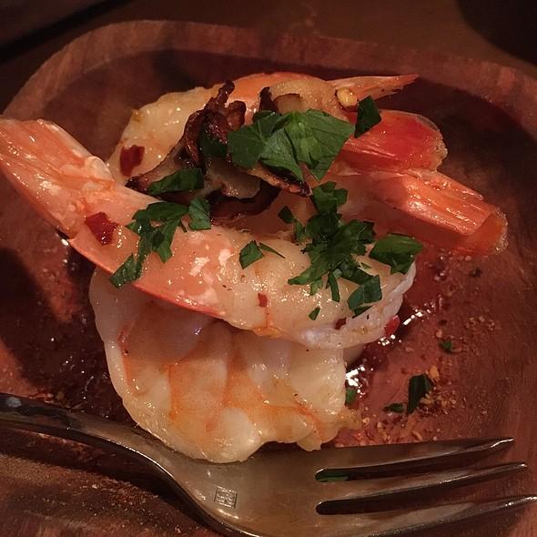 Sauteed Garlic Chili Shrimp - La Rambla Restaurant & Bar, McMinnville, OR