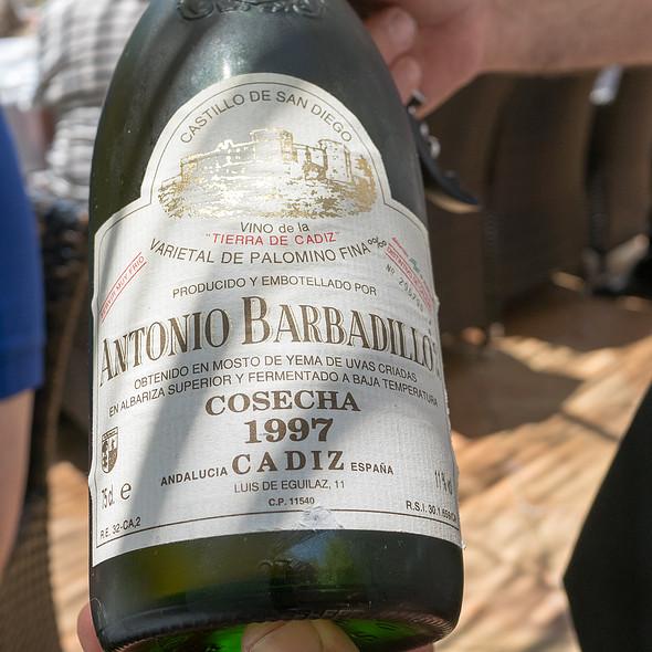 White Wine @ Es Raco d'es Teix