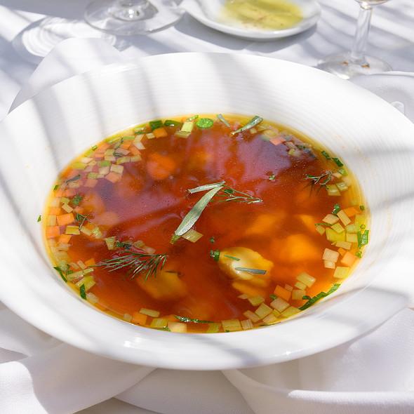 Fish Consommé @ Es Raco d'es Teix