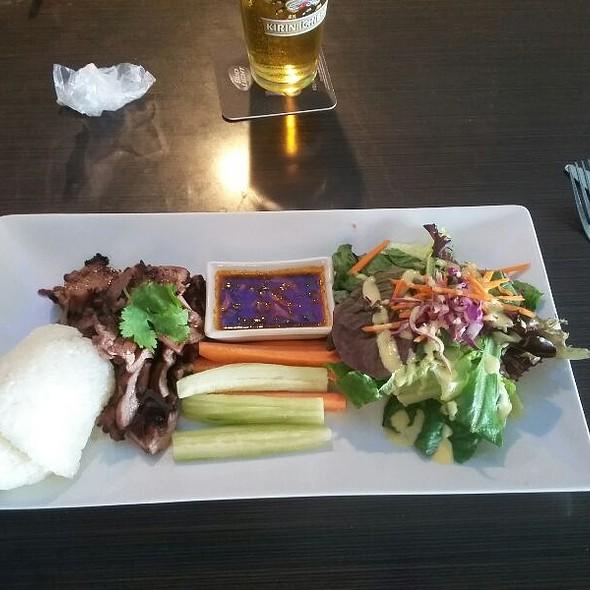 BBQ Pork Lunch Plate @ Thai Talay