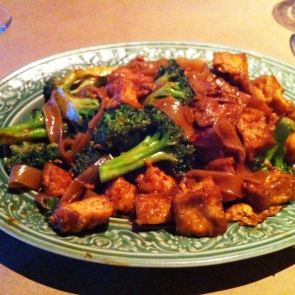 Pad Si Ew W/ Tofu - Restaurant Thailande, Montréal, QC