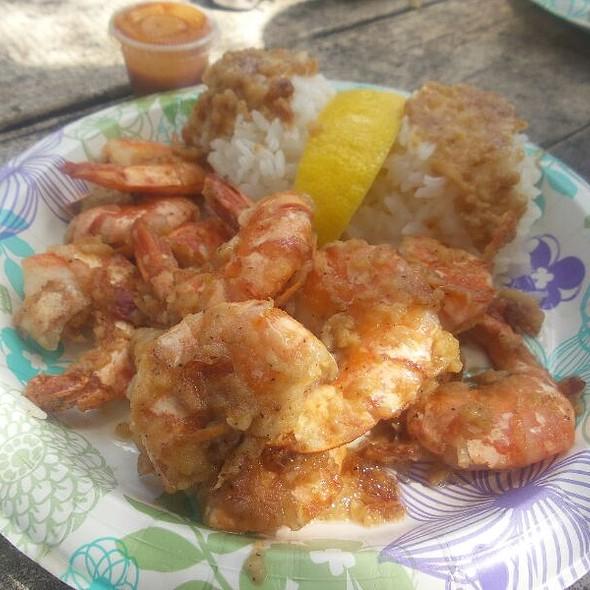Garlic Shrimp @ Giovanni's Shrimp Truck
