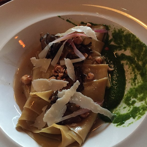 Wild Mushroom Tagliatelle @ Ugo's Kitchen & Bar