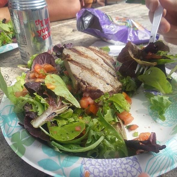 Bbq Ahi Steak And Salad @ North Shore, Haleiwa, HI