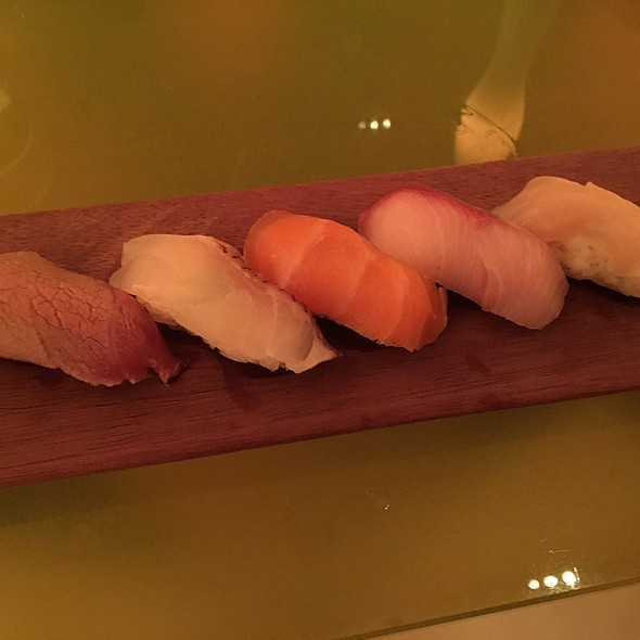 Chefs Selection Of Sushi