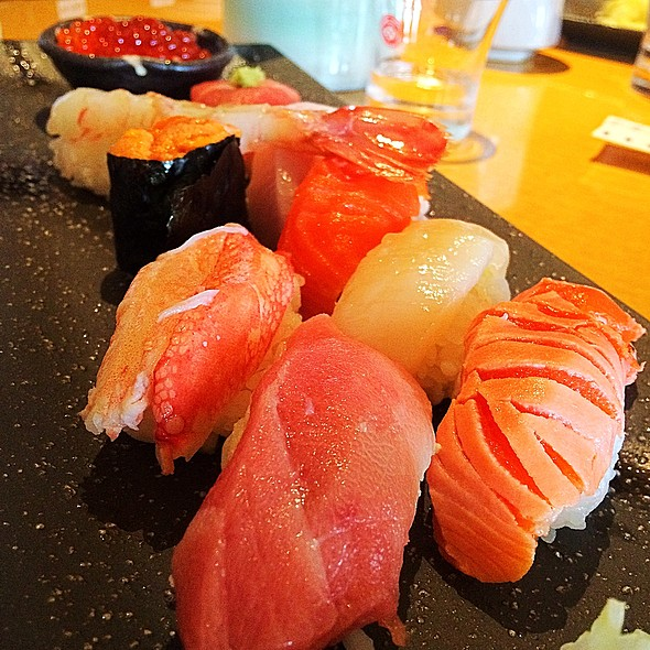 Fatty Tuna Sashimi @ 吉山商店 札幌ラーメン共和国店