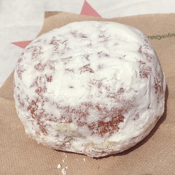 Lemon Filled Doughnut
