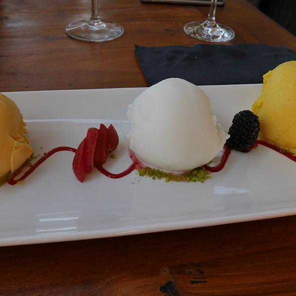 Sorbets - Mango, Lemon, Orange @ Sa Barca