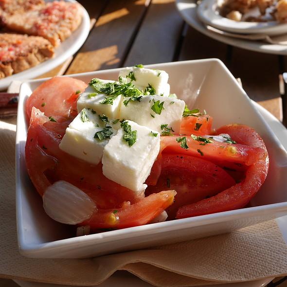 Tomato Salad with Feta @ Xelini El Barrigon