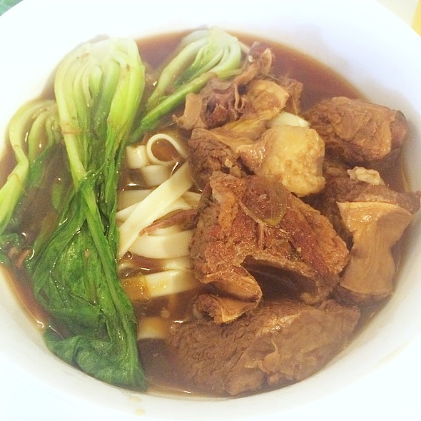 Beef noodle soup @ Home