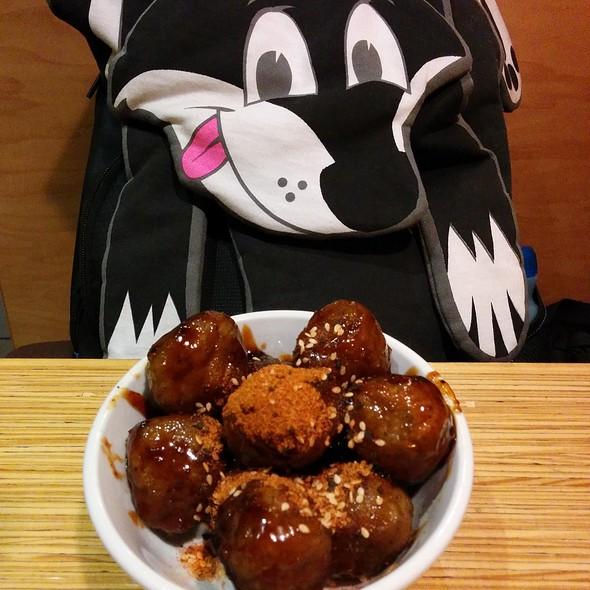 Korean Bbq Meatballs @ Noodles & Company