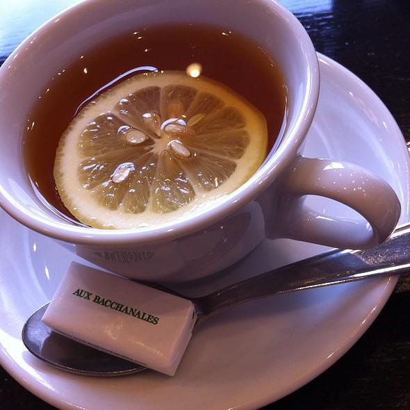 Hot Lemon Tea @ ブラッスリー ラ クラス 横浜ランドマークプラザ店