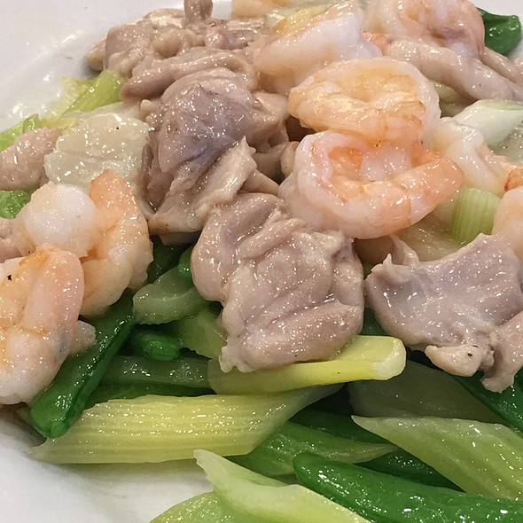 Seafood With Vegetables @ Sandy La Chinese Restaurant
