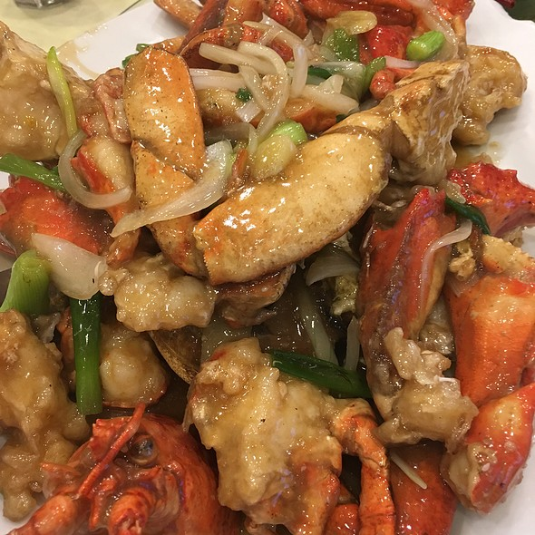Lobster And Crabs Combo Platter @ Sandy La Chinese Restaurant