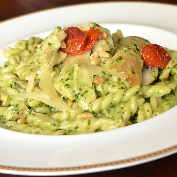 GEMELLI WITH ROASTED CHICKEN