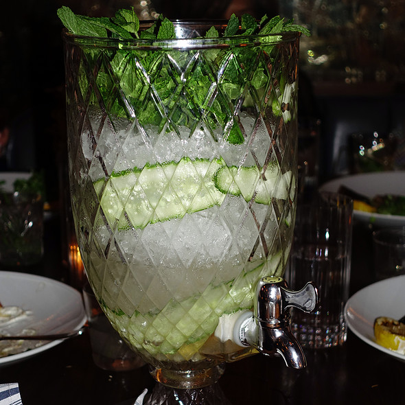 Cucumber Martini @ Chicago q