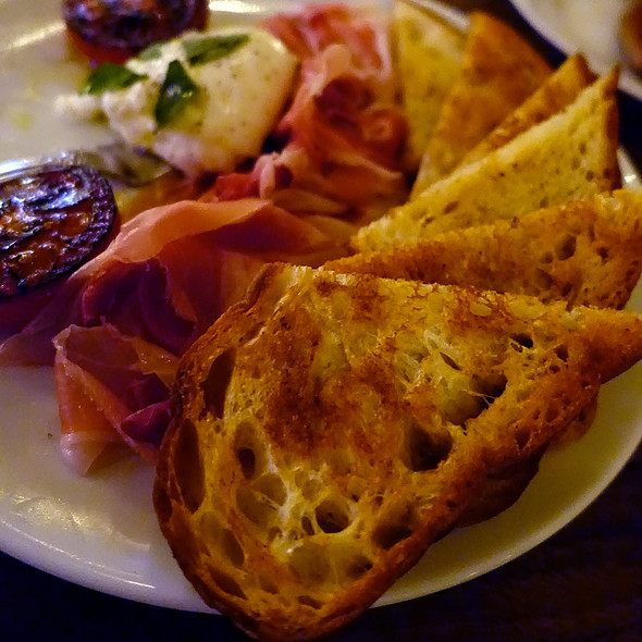 Prosciutto And Burrata @ Chicago q