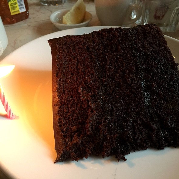 Chocolate Layer Cake @ Chocolate Room The
