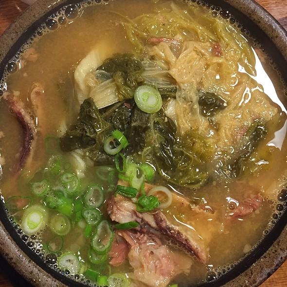 Beef Short Ribs Stew (Ugeoji Galbit Tang) @ Stone Bowl House Woo Nam Jeong