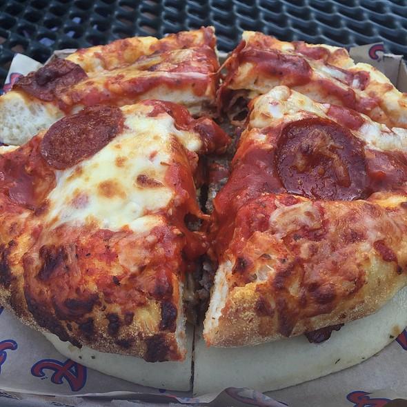 Burgerizza @ The Brave's Chop House @ Turner Field