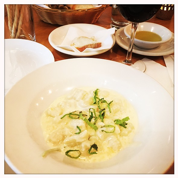 Gnocchi Di Zucca @ Basta Pasta Ristorante Italiano