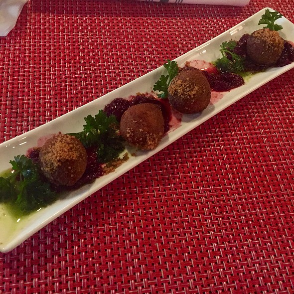 Duck Balls With Cherry Compote - B Too, Washington, DC
