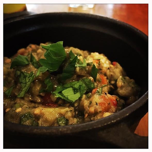 Smoked Eggplant Spread @ Snack Taverna