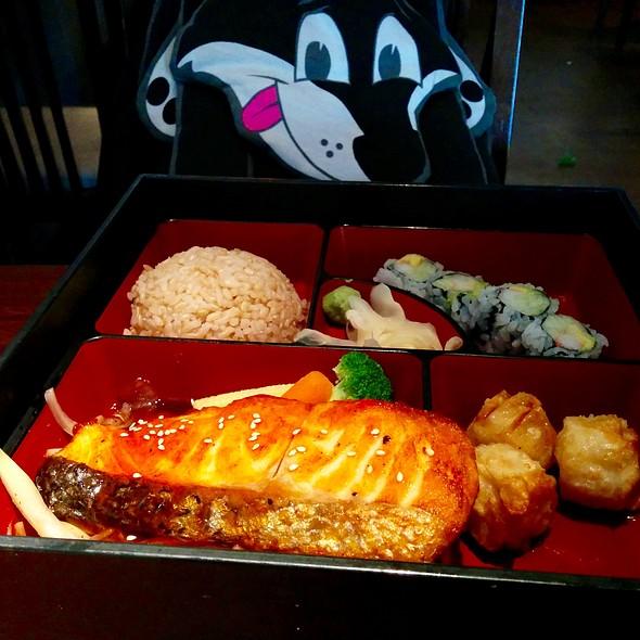 Teriyaki Salmon Bento Box @ Le Shio