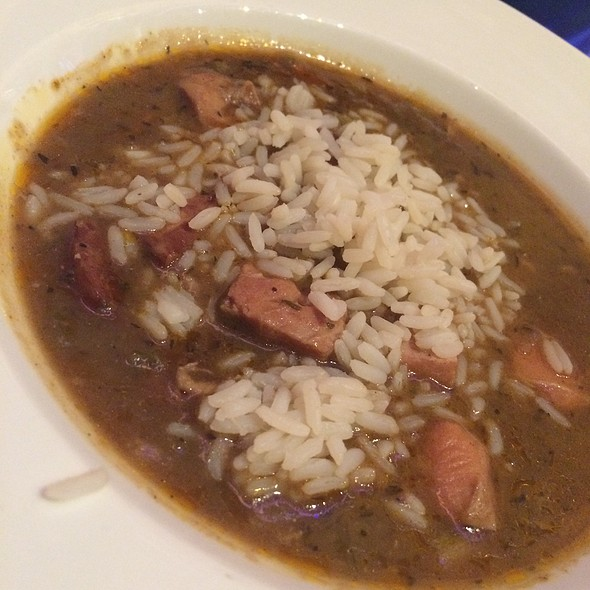 Chicken Andouille Gumbo - Table 10, Las Vegas, NV